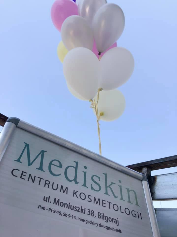 Centrum Kosmetologii Mediskin – podziękowania za uczestnictwo w otwarciu