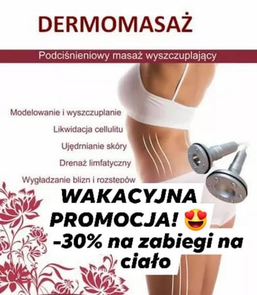Centrum Kosmetologii MediSkin – promocja na zabiegi na ciało.