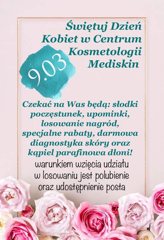 Salon kosmetyczny Mediskin Biłgoraj – zapraszamy na Dzień Kobiet