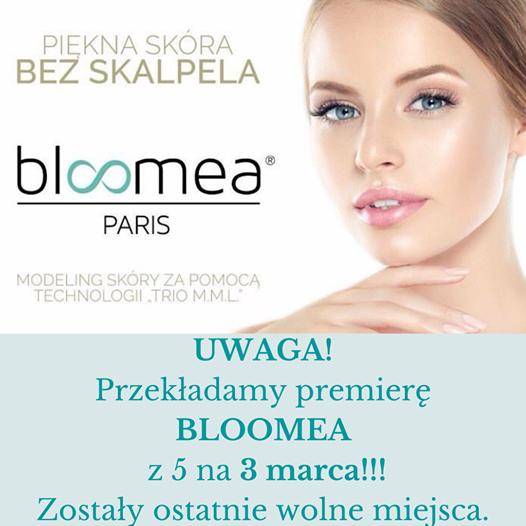 Premiera urządzenia BLOOMEA w Centrum Kosmetologii Mediskin