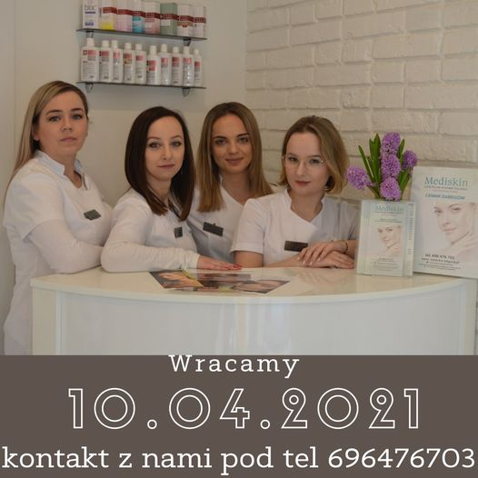 Salon kosmetyczny Centrum Kosmetologii Mediskin – nieczynny